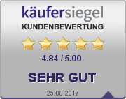 K�ufersiegel Kundenbewertung