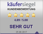 Käufersiegel Kundenbewertung